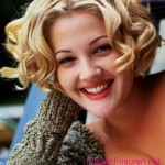 promi drew barrymore locken bob frisuren