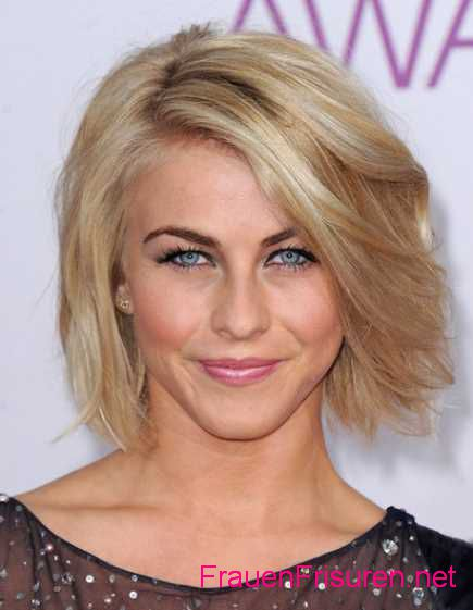 neue bob frisuren 2015 wellige chic kurze blond