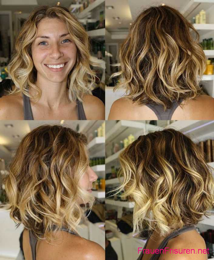 schone ombre hair frisuren damen