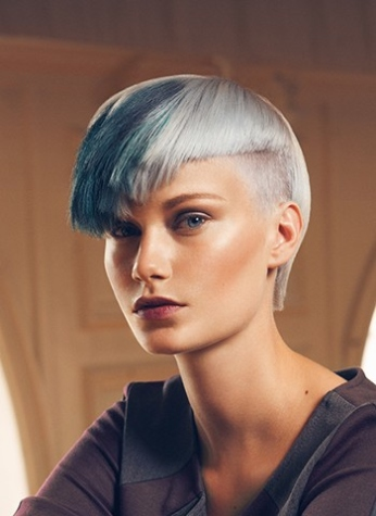 blau blond kurzhaarfrisuren 2016 frauen
